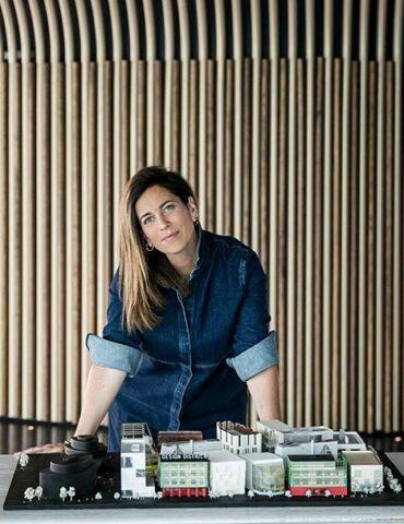 Helen Arvanitakis, director of London's new Design District (Photo (c) Taran Wilkhu)