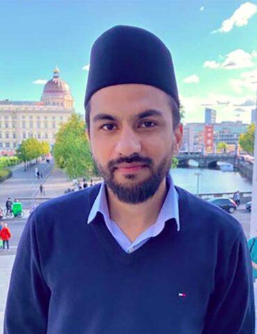 Said Ahmad Arif, Imam at the Khadija mosque in Berlin